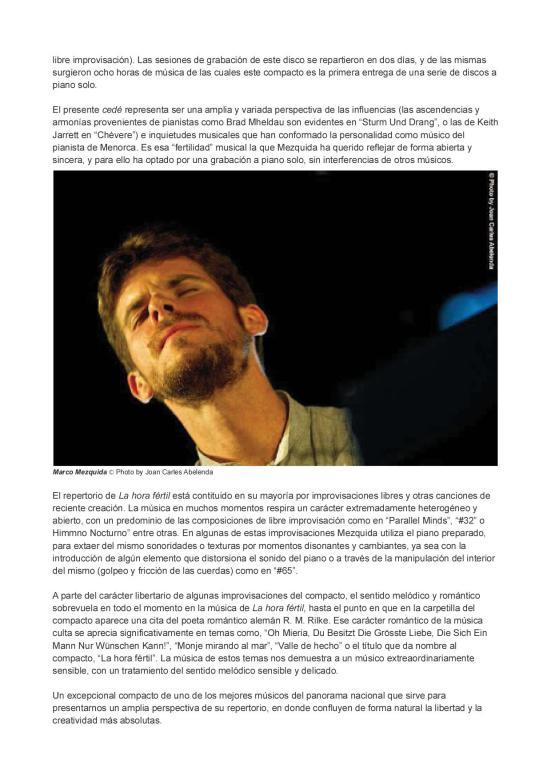 Crítica la hora fertil por JC Abelenda2