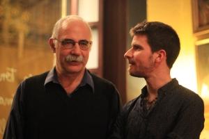 con Leo Masliah (mandacarú)