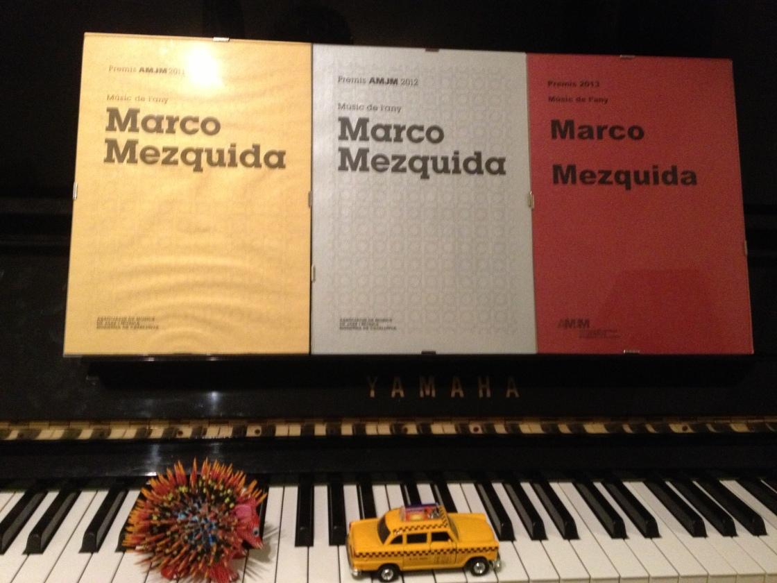 Mezquida Premi Músic de l'any 2011, 2012 i 2013 per l'Associació de Músics de Jazz i Música Moderna de Catalunya.